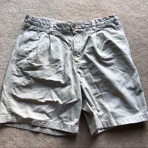 Eddie Bauer relaxed fit khaki shorts